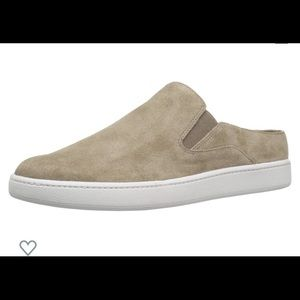 Vince verrell  slip on suede shoes